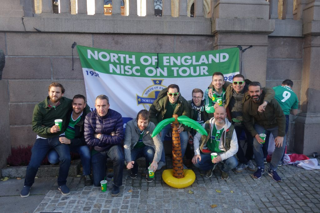 North of England NISC having a wee carry out in Oslo, Norway 2017